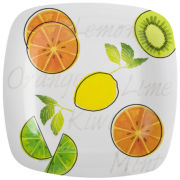 Zak Designs® Sorbet Melamine 6-pc. Salad Plate Set