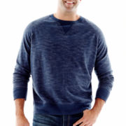 The Foundry Supply Co.™ French Terry Raglan Knit Crew–Big & Tall