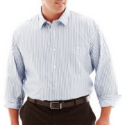 Claiborne® Newburgh Striped Shirt–Big & Tall