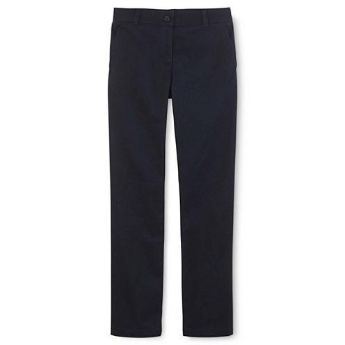 IZOD® Flat-Front Pants - Girls 4-16, Girls Slim & Girls Plus