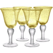 Iris Set of 4 Goblets