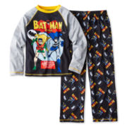 Batman Comic Long-Sleeve 2-pc. Knit Pajama Set – Boys 4-12