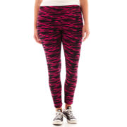 City Streets® Wide-Waistband Leggings - Plus