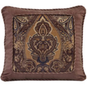 "Croscill Classics® Athena 18"" Square Decorative Pillow"