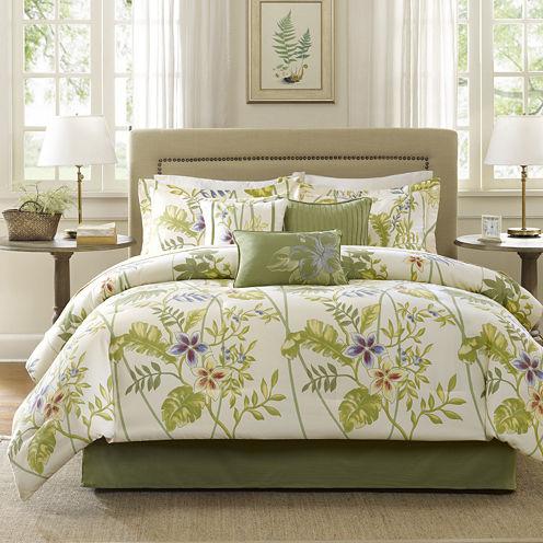 Madison Park Hana Tropical 7-pc. Comforter Set