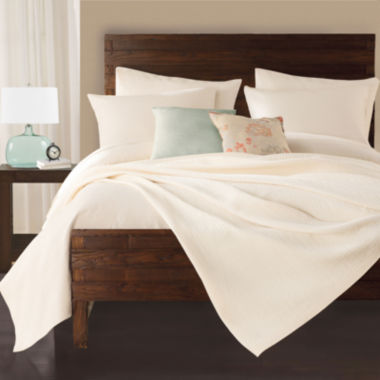 jcpenney.com | Lamont Home® Delaney Coverlet & Accessories