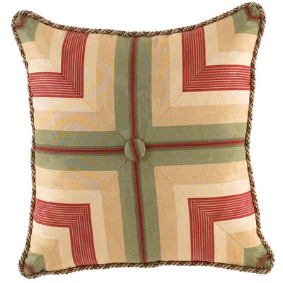 "Waverly® Laurel Springs 20"" Square Decorative Pillow"