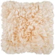 Surya® Prom Ruffled Decorative Pillow