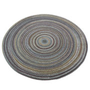Pine Hill Reversible Braided Indoor/Outdoor Round Rug