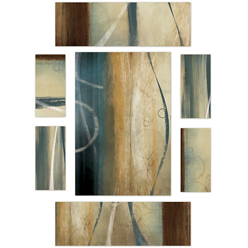 PTM Images™ Set of 7 Flow Canvas Wall Art