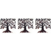 PTM Images™ Set of 3 Metal Tree Wall Art