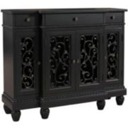 Ballard Scroll Console Table
