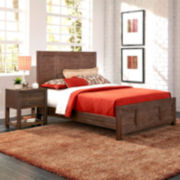 Weatherford Bed and Nightstand