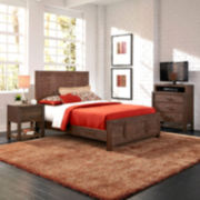 Weatherford Bed, Nightstand, and Media Set
