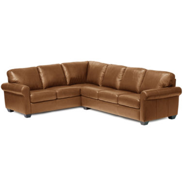 jcpenney.com | Leather Possibilities 2-pc. Left- Arm Corner Sofa Sectional