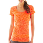 Xersion™ Short-Sleeve Burnout Tee