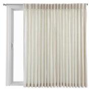 Royal Velvet® Supreme Pinch-Pleat/Back-Tab Lined Patio Panel