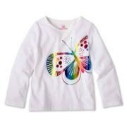 Okie Dokie® Long-Sleeve Graphic Tee - Girls 2t-6