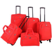 American Flyer Southwest 5-pc. Luggage Set
