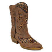 Laredo® Sabre Girls Western Boots - Little Kids