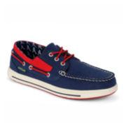 Eastland® Adventure MLB® Braves Mens Boat Shoes