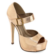 Michael Antonio Thom Peep-Toe Platform Pumps