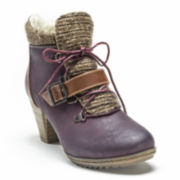MUK LUKS® Leah Womens Ankle Booties