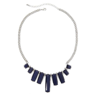 jcpenney.com | Mixit™ Blue Rectangular Stones Statement Necklace