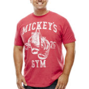 Bioworld® Mickey's Gym Graphic Tee - Big & Tall