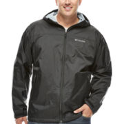 Columbia® Might and Right Rain Jacket - Big & Tall