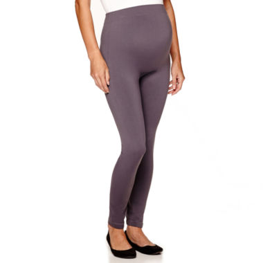 jcpenney.com | Maternity Seamless Ankle Leggings - Plus