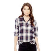 Joe Fresh™ Long-Sleeve Plaid Shirt