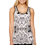 nicole by Nicole Miller® Burnout Tank Top