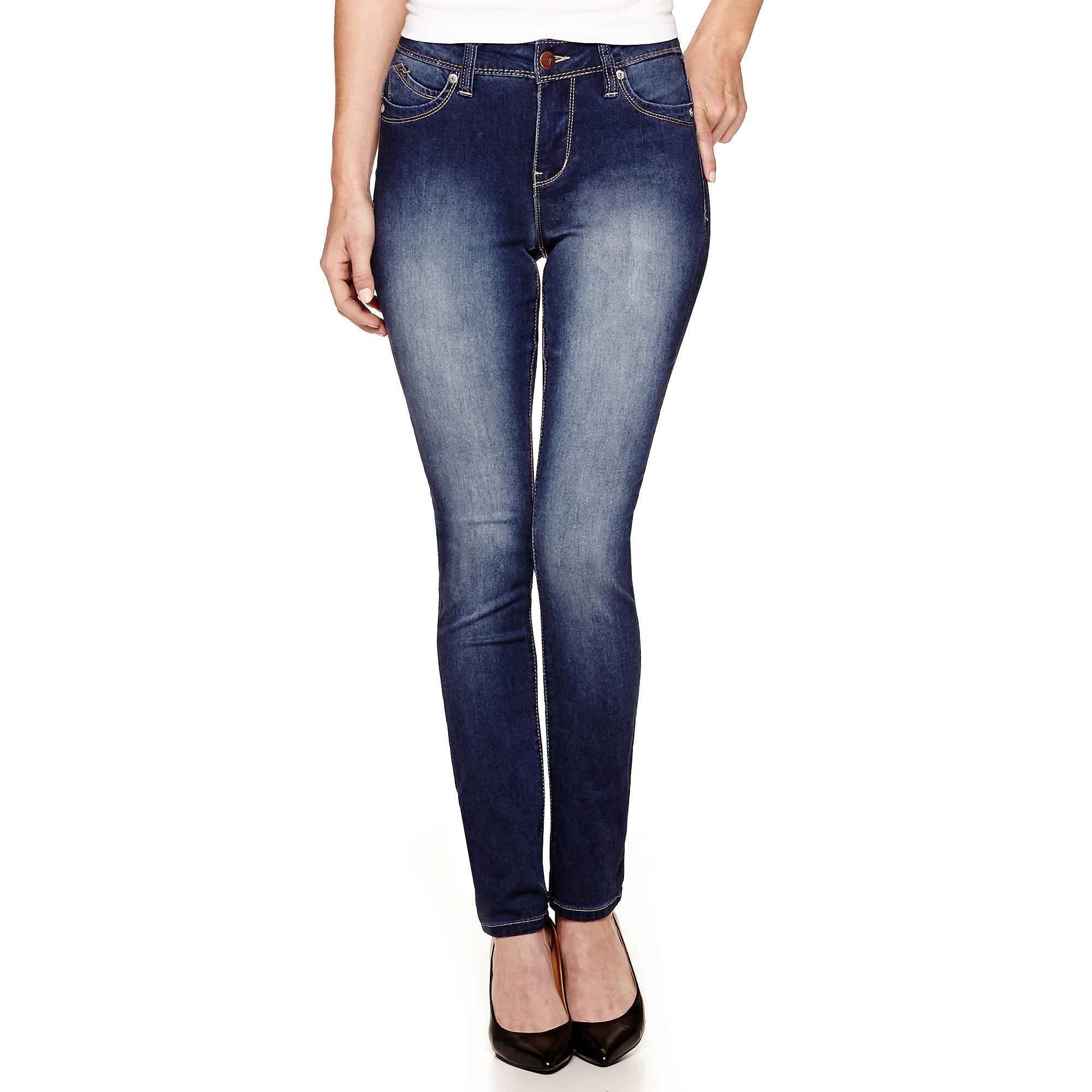 YMI Wanna Betta Butt 5-Pocket Straight Jeans