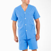 Stafford® Short-Sleeve Pajama Set–Big & Tall