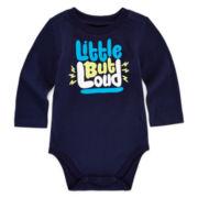 Okie Dokie® Attitude Bodysuit – Baby Boys newborn-24m
