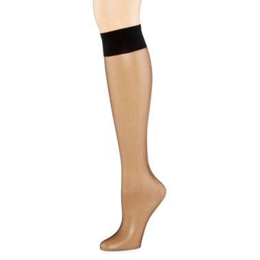 jcpenney.com | Berkshire Ultra-Sheer Knee-High Hosiery - Queen