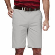 Haggar® Eco Straight-Fit Flat-Front Shorts