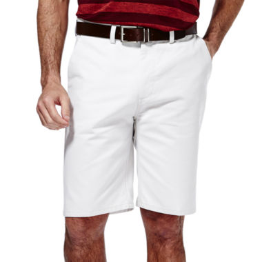 jcpenney.com | Haggar® Eco Straight-Fit Flat-Front Shorts