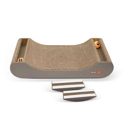 K & H Manufacturing Kitty Tippy Scratch n' Track Cardboard Toy
