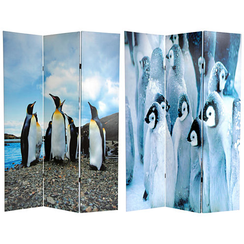 Oriental Furniture 6' Penguin Room Divider