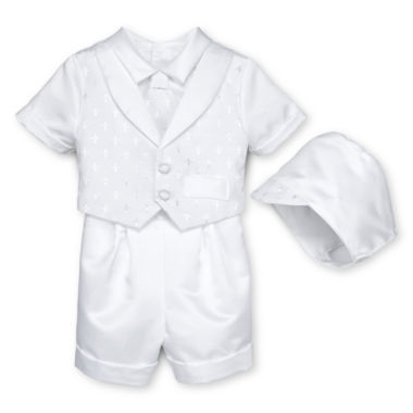 jcpenney.com | Keepsake® Christening Shorts Set - Boys newborn-12m