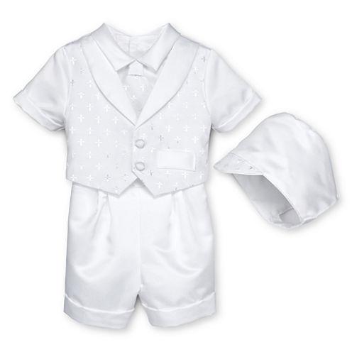 Keepsake® Christening Shorts Set - Boys newborn-12m