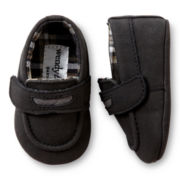 Wendy Bellissimo™ Brodey Infant Boys Black Loafers