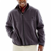 IZOD® Full–Zip Polar Fleece Jacket–Big & Tall