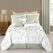 Lush 10-pc. Comforter Set & Accessories