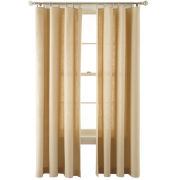 MarthaWindow™ Caldwell Solid Ring-Top Curtain Panel