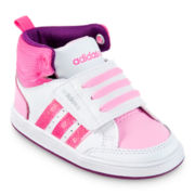 adidas® Neo V Hoops Mid Girls Basketball Shoes - Toddler