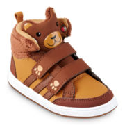 adidas® Bear Mid Boys Basketball Shoes - Toddler