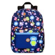 Owl Print Backpack - Girls